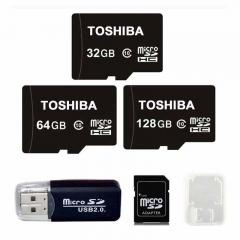 Toshiba 32GB 32G Class10 TF Card Micro SD Memory Card + Reader 32gb