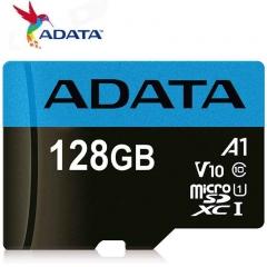 ADATA Memory Card 128GB 128G Class10 TF Card Micro SD + Adapter blue micro sd 128gb high speed