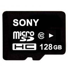 128GB SONY 128G  Memory Card Class10 TF Card Micro SD + Reader black micro sd 128gb high speed