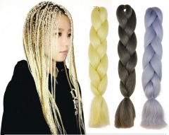 KK- Fashion Hidden Colorful Synthetic Braid Hair Extensions Twist Braids Hair a01 one braid