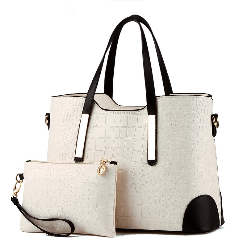 b506dbf6cb8e 2 Set Fashion Women Handbags Messenger Bags Ladies Shoulder Bag white set   Product No  1604119. Item specifics  Brand