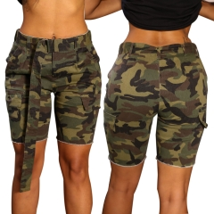 Fashion Women Sexy Camouflage Pattern Short Pants Trousers camouflage l