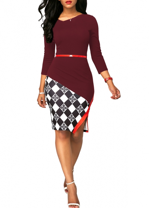 Kilimall 2018 New Arrive Fashion Ladies Office Dress Women Long