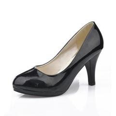 Fashion Women Shoes Elegant High Heels Office Ladies Dress Work Shoes black 35