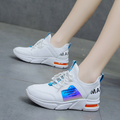 Fashion Air Cushion Sports Shoes Women's Sneakers Casual Walking Running Shoes white 36