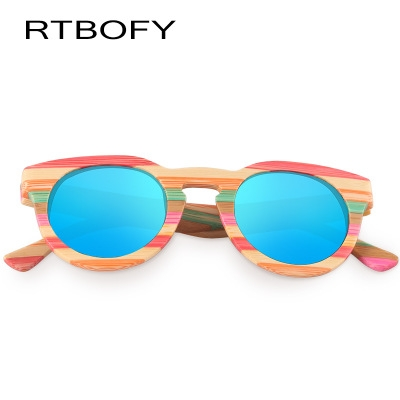 ce45d1ee59c RTBOFY Wood Sunglasses Women Bamboo Frame Eyeglasses Polarized Lenses  Glasses with Wood Box UV400 c1  Product No  1801799. Item specifics  Brand