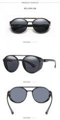 RTBOFY Steampunk Sunglasses for Men and Women Vintage Design Shades Fashion Sun Glasses Goggle UV400 c1