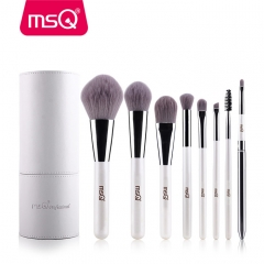 MSQ Makeup Brushes Professional Zodiac Cosmetics Brush Set 8pcs High Quality Synthetic Hair With STT08W3