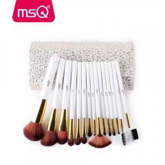 MSQ Pro 12pcs Professional Makeup Brushes Set Powder Foundation Eyeshadow Eyeliner Lip STT12W
