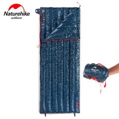 NatureHike Ultralight Envelop Slaapzak Ganzendons Lui Tas Camping Slaapzakken 570g NH17Y010-R dark blue