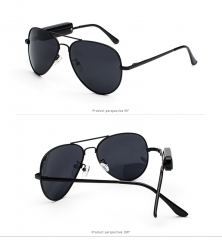 Smart Stereo Bluetooth Polarized Sunglasses Spectacles Drive Listen to songs Telephone call black one size
