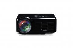 Mimi 3D HD Projector Home Movie Projector 1080P USB/SD/VGA/HDMI/AV/Micro USB/TV Black 17*13.5*6.6cm