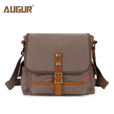 b1e895aeee AUGUR Men S Women Messenger Bag Classic Canvas Shoulder Bags For Women  Fashion Hasp armygreen 25 11 28cm  Product No  1368171. Item specifics   Brand