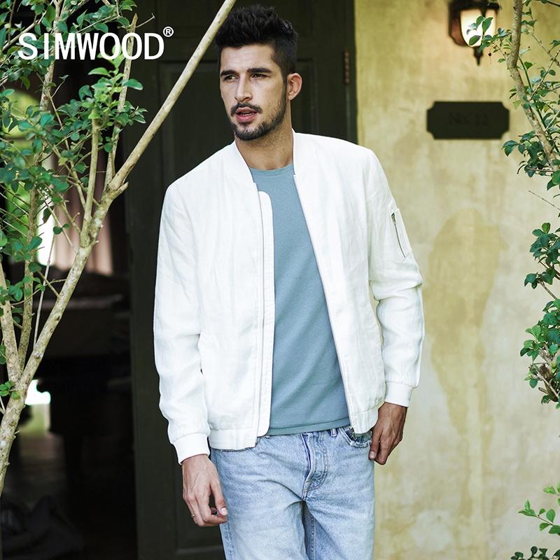 6f49397aebc SIMWOOD Brand Casual Jacket 2018 Jacket Men Windbreaker Fashion Casual Coats  Slim fit white xl  Product No  1531763. Item specifics  Brand