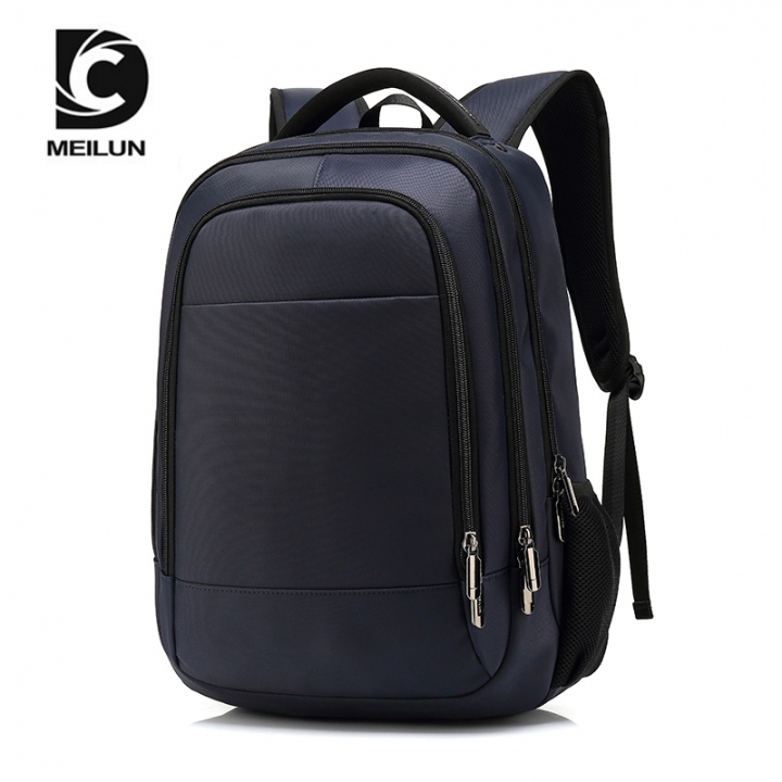 eca9ab095c35 15.6inch Laptop Backpack Male USB Charging Business Anti theft Backpack for  Men Fashion Travel blue 15.6inch