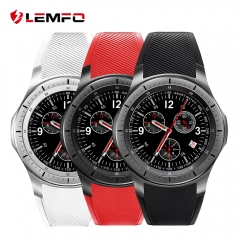 LEMFO LF16 Bluetooth Smart Watch Phone WIFI GPS 3G WCDMA Android Smartwatch red one size