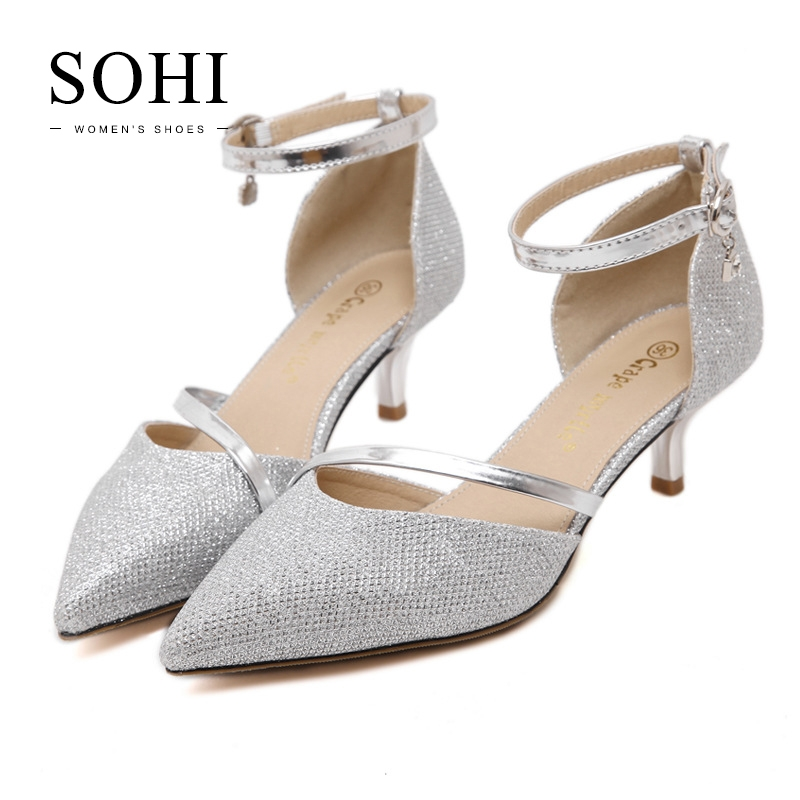 0e1b388a10e7 ... 1 Pairs Pu Women S Fashion High Heels Elegant Women S Evening Party  Shoes