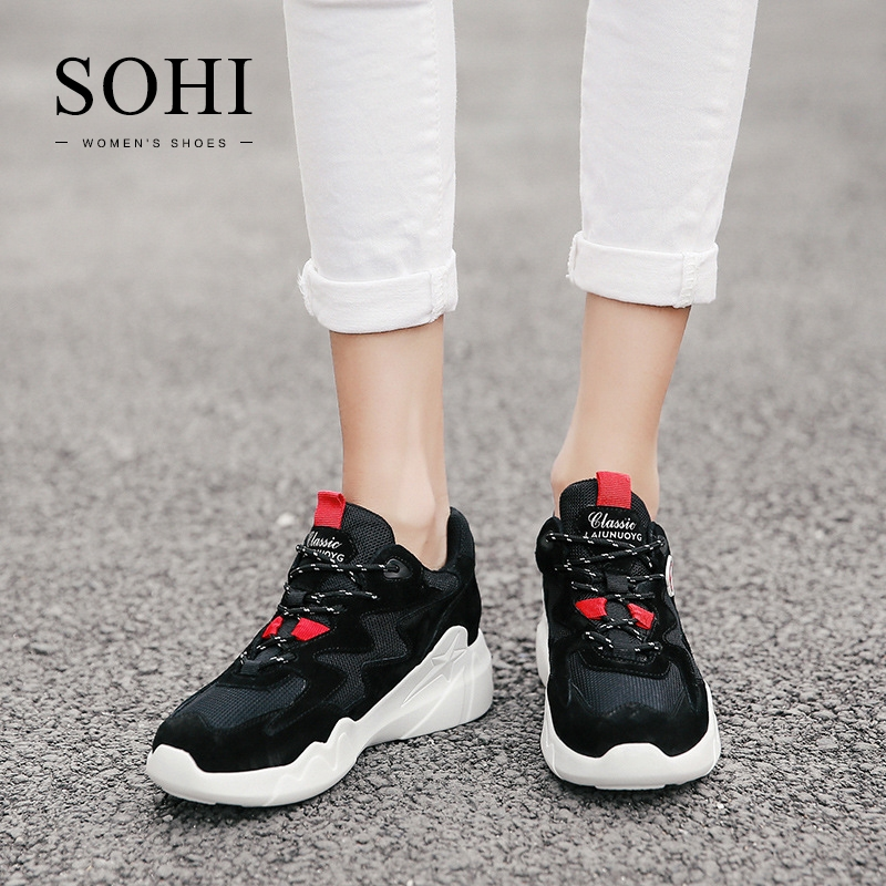 bd3941b9336a ... Sneakers Athletic Shoes For Women black 35: Product No: 1342650. Item  specifics: Seller SKU:SOHI-00195: Brand: SOHI