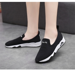 SOHI New arrival sports shoes canvas shoes small white shoes tide single shoes women's shoes black 35