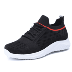 SOHI Breathable wild sports women's shoes ulzzang casual sports shoes black 37