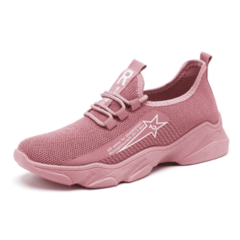 SOHI Autumn new trend sports shoes student old shoes wild women's shoes pink 41