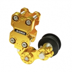 Motorcycle Modification Parts Chain Adjuster Big Chain Automatic Regulator Tensioner-Gold