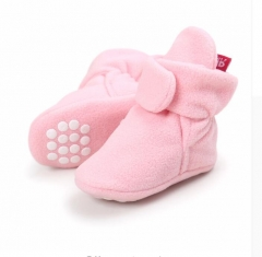 New baby shoes Newborn Bootie Winter Warm Infant Toddler Crib Shoes Classic Floor Boys Girls Boots a l(13cm/5.12