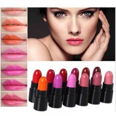 12Colors/Set Mini Cute 12 Colors Lipstick Waterproof Lip Color 1.2gx12 High Quality Lips Makeup 12Colors