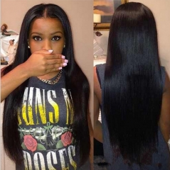 I's a wig Long Black Straight Synthetic Wigs 30 inches for Women Black  Heat Resistant Fiber Hair black as picture