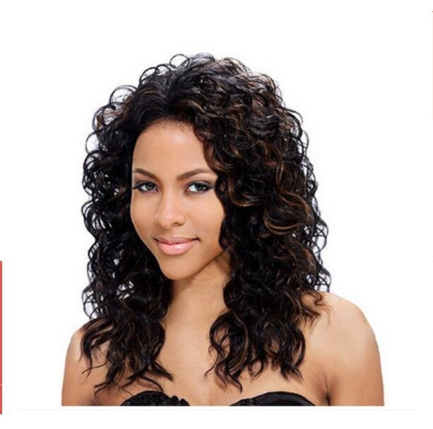 Gender  Women Color  as picture. Material Synthetic Fibers Package  included   High Quality Wig 345a932edc