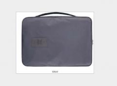 Business Men Travel Shirt Tie Bag Organizer Portable Handbag Super Lightweight Packing Organizer gray