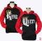 2019 KING Queen Crown Print Unisex Autumn Hoodies Slim Sweatshirt for Couple Lovers Hooded Pullovers 2 #king 2xl
