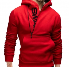 Assassins Creed Hoodies Men Letter Printed Hoodie Sweatshirt Long Sleeve Hooded Jacket Sportswear red 5xl
