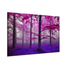 Paintings Canvas Picture Wall Art Tree Painting Landscape For Living Room Decoration Not Frame as picture 30 x 45cm no frame