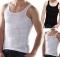 Men Slimming Underwear Body Shaper Waist Cincher Corset Men Shaper Vest Body Belly Waist Shapewear black xl