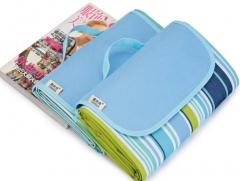 Waterproof Foldable Outdoor Camping Mat Picnic Mat Plaid Beach Blanket Baby Multiplayer Tourist Mat A 145*180