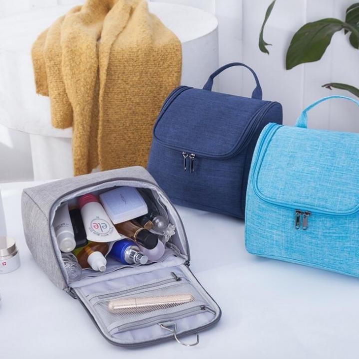 Neceser Zipper Makeup Cosmetic bag beauty Case Organizer Toiletry bag kits  Storage Travel Wash pouch black f19655af2e68e