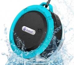Outdoor Portable Bluetooth Speaker Rugged Waterproof Speakers Wireless Mini Sound Box blue 5 W 87mm*45mm*95mm