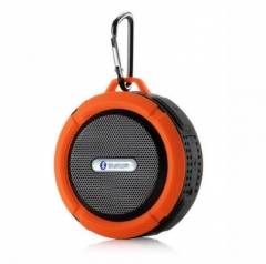 Outdoor Portable Bluetooth Speaker Rugged Waterproof Speakers Wireless Mini Sound Box orange 5 W 87mm*45mm*95mm