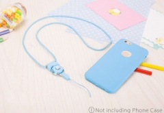 Mobile Phone Straps Rope  Neck Strap Phone Decoration blue normal