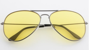 Goggle classic, sunglasses, toad yellow mirror yellow frame normal