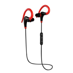 Headphones Bluetooth Earphone Wireless Headset Auriculares Sports Stereo Earbud with mic red