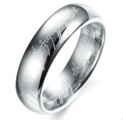 Movie Game ghost party dragon root ring stainless steel ring dragon ring silver 9