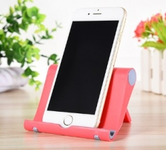 Universal Desk Phone Holder Stand Folding Mobile Phone Holder For iPhone Samsung Smart Phone Stand red normal