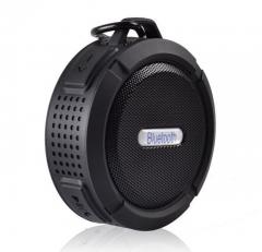 Outdoor Portable Bluetooth Speaker Rugged Waterproof Speakers Wireless Mini Sound Box black 5 W 87mm*45mm*95mm