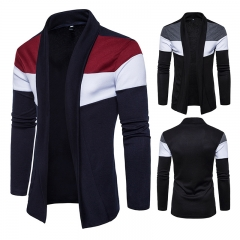 New style, Euro code fashion for men, crash sweater sweater jacket black xxl