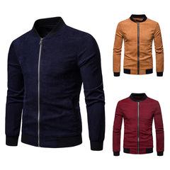Men's Corduroy Jacket dark blue xl