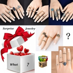 Fashion Luxury Jewelry Accessory! Mystery Box Random Item Get Ready for Your 100% Surprise! one color one size