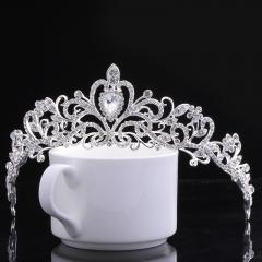 Fashion Wedding Headdress Luxury Bride Rhinestone Crown Wedding Tiara Hair Accessories