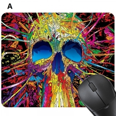 Men's Fashion Computer Mouse Pad Mat Digital Printing Rubber Soft Pad Anti-slip Gaming Mouse Pad A 24*20 CM